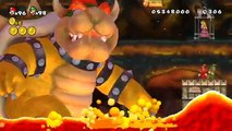 New Super Mario Bros. Series - All Final Boss Fights & Endings