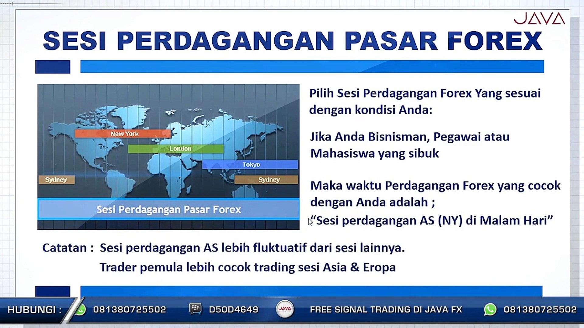 informasi perdagangan forex pemula