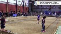 Second tour intégral, Club Elite Féminin, J4, Bourg-en-Bresse contre Béziers, novembre 2017