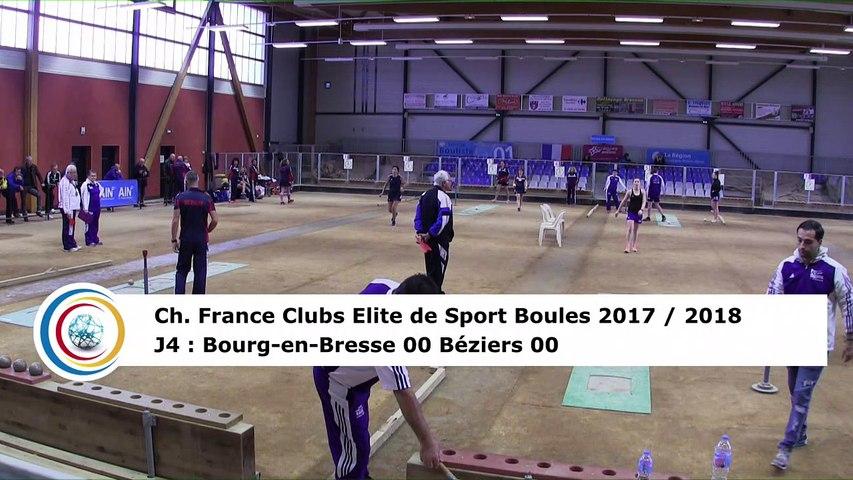 Premier tour, tir progressif, Club Elite Féminin, J4, Bourg-en-Bresse contre Béziers, novembre 2017