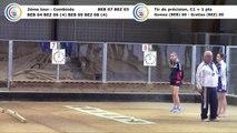 Second tour, premier tir de précision, Club Elite Féminin, J4, Bourg-en-Bresse contre Béziers, novembre 2017