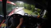 Dangerous Truck Driving - GoPro first person view, (POV) HD 60fps new How To #Real Life