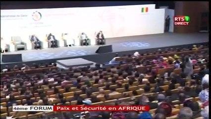 Forum Paix et Sécurité 2017:Allocution des Ministres représentant le Tchad