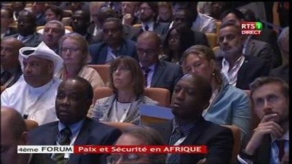 Forum Paix et Sécurité Déclaration du Président Malien Ibrahim B. KEITA