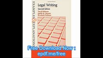 Examples & Explanations Legal Writing, Second Edition (Examples and Explanations)