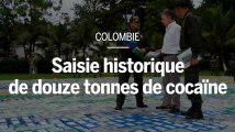 Colombie : saisie historique de douze tonnes de cocaïne