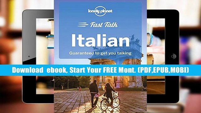 Premium Book Lonely Planet Fast Talk Italian (Phrasebook) Lonely Planet Full book