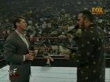 The Rock, Austin,Vince,Foley & Show Segment About WM