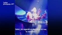 En plein concert, Lady Gaga arrête tout pour s'assurer qu'une fan va bien