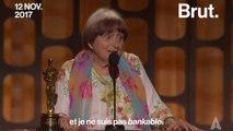 Agnès Varda, première réalisatrice à recevoir un Oscar d'honneur