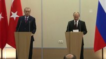 Erdoğan-Putin Ortak Basın Toplantısı - Rusya Devlet Başkanı Putin (2)