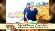 Carlos José y Domenic disfrutan de unas vacaciones juntos en Orlando