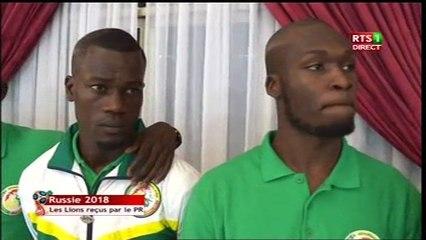 Allocution Président de la République Macky SALL - rencontre des lions de football