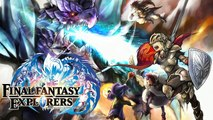 FINAL FANTASY EXPLORERS : Introduction | Lets play FR #1