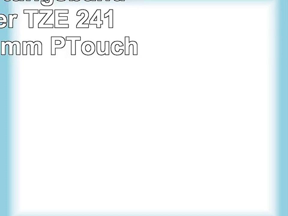 5 Farbband für Brother TZE-241 P-Touch 1000 BTS P 700 H 500 E 500 VP H 500 Li