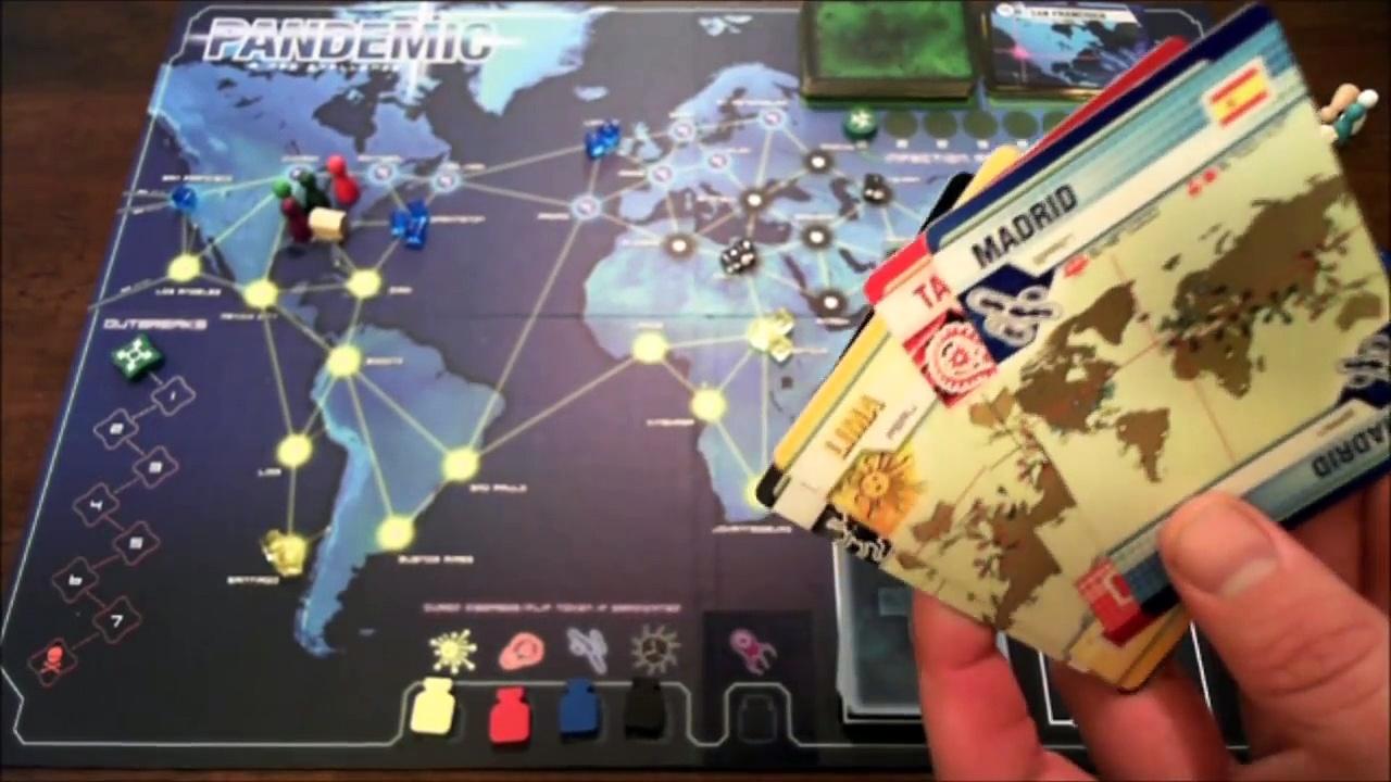 Pandemic review – Board Game Brawl