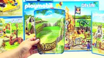 Playmobil City Life Zoo! Large City Zoo, Childrens Petting Zoo, Zoo Animal Care Station and More!