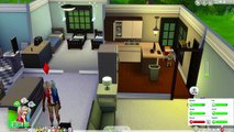 HARLEY QUINN FLIRTING WITH BATMAN?! | The Sims 4: 100 Baby Challenge | HARLEY QUINN AND JOKER | Ep 9