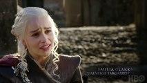 Emilia Clarke and Kit Harington React on Their Love Scene (GOT Behind The Scenes) Jon _ Dany Romance-9MIoIbkaZIw