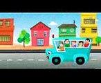 roues sur le bus chansons pour enfants rime pour bébés autobus chanson en français Wheels On The Bus