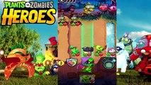 Plants vs. Zombies Heroes Mission 1 Zombie [Part 2] (PvZ Heroes)