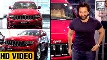 Saif Ali Khan Buys New Car For Son Taimur | Lehren TV