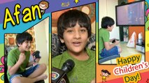 Afaan Khan Celebrates Children's Day & Talks About Tejaswi | Pehredaar Piya Ki