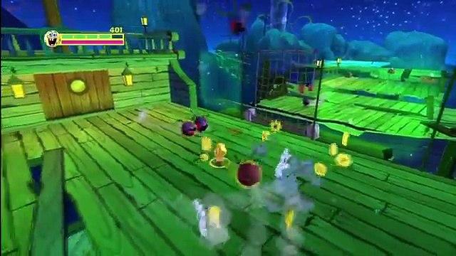 Spongebob Squarepants Planktons Robotic Revenge - Gameplay Walkthrough - Part 1 - Intro (HD)