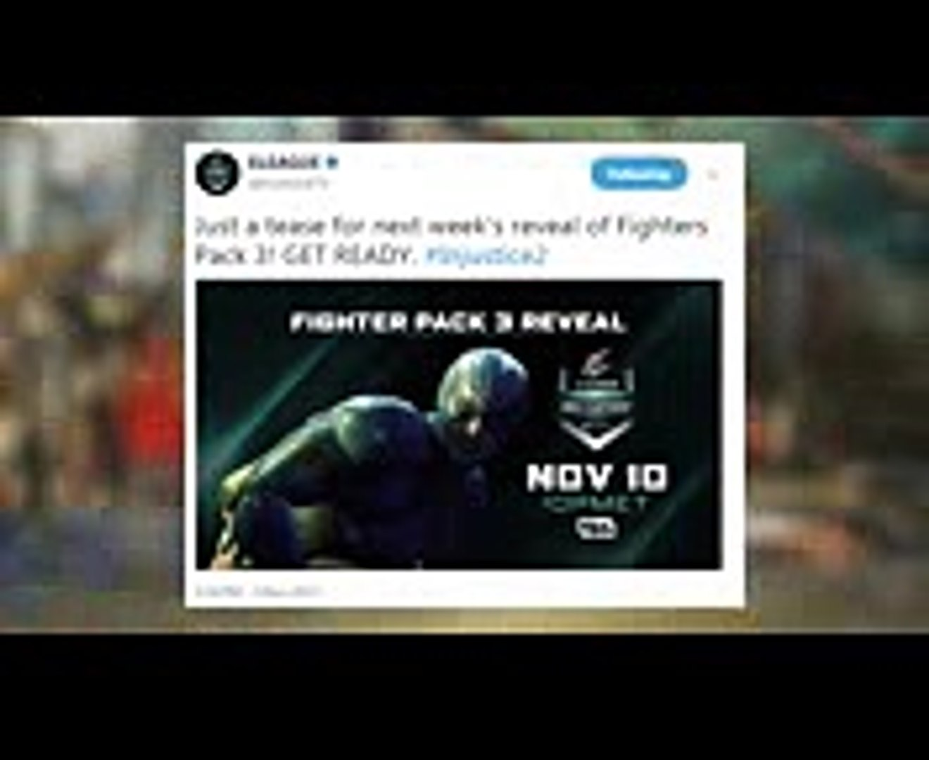 Injustice 2 Fighter Pack 3 Trailer Reveal Date ANNOUNCED! (Injustice 2 Fighter Pack 3 DLC)