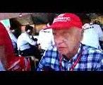F1 2017 Brazilian GP Niki Lauda post race reaction