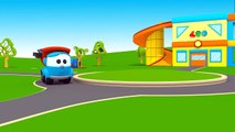 Leo the truck Full episodes #8. Car cartoons & learning videos. Cars games & cartoons for babies.-hr0P5--QCYg