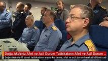 Doğu Akdeniz Afet ve Acil Durum Tatbikatının Afet ve Acil Durum Harekatı Bölümü Başladı