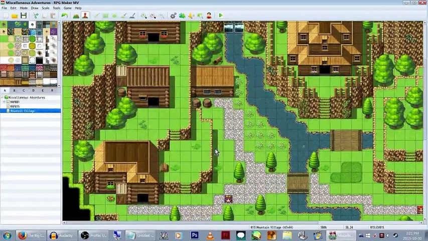 RPG Maker MV: Welcome to Lag Town! Home of Many Stuffs! (Lets Make a Game!  Pt-2)