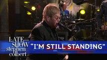 Elton John Performs 'I'm Still Standing'