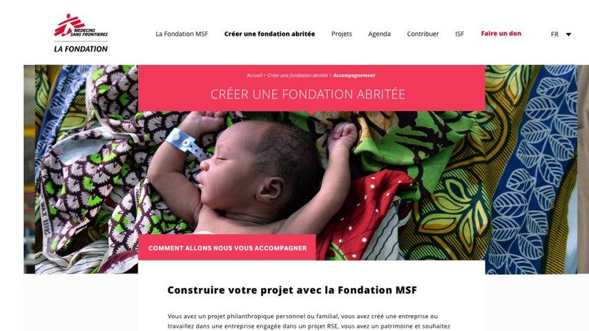 Portrait de Francis Charhon Vice-président de La Fondation MSF