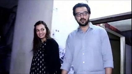 170.Imtiaz Ali & Dia Mirza Spotted At Juhu PVR Watching Dangal