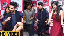 Shahid Kapoor DANCES With Fans During Padmavati Promotions