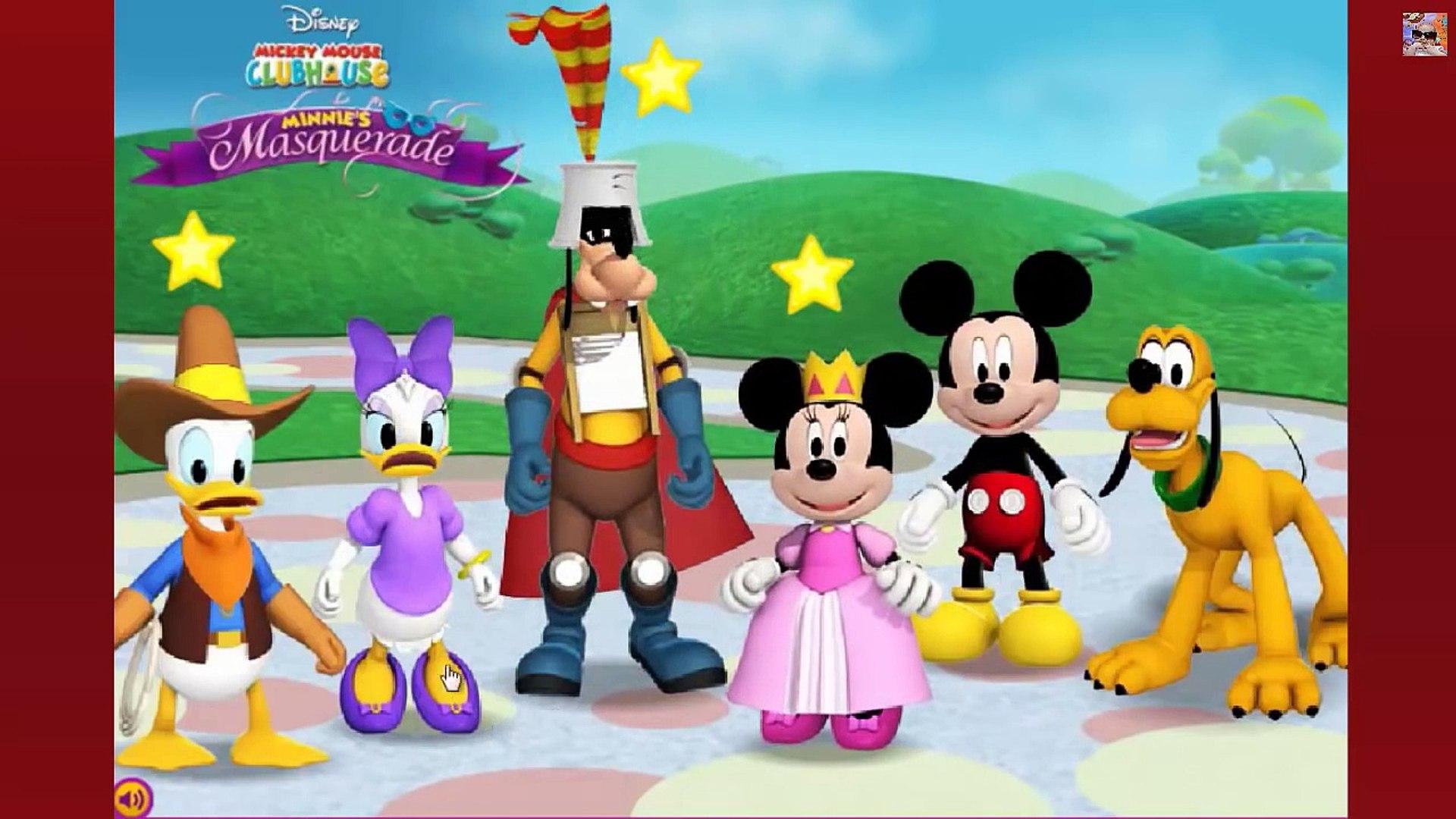 Klub Przyjaciół Myszki Miki - kompilacja - nauka gry i zabawy