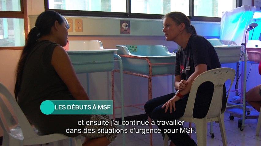 Natalie Roberts responsable cellule urgence chez MSF