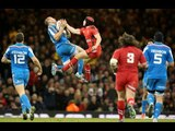 Second Half Highlights of Wales v Italy in the 2014 RBS 6 Nations - 1st February 2014