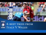 RBS 6 Nations 6  Best Tries:  Italy v Wales 2015