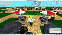 Roblox / Theme Park Tycoon 2 / Building My First Roller Coaster / Gamer Chad Plays