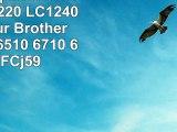 10 Druckerpatronen Brother LC1220 LC1240 LC1280 für Brother MFC 5910 6510 6710 6910