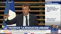 """""""Qui veut un contrat aidé ? Que ceux qui les défendent les prennent."""" La charge de Macron à Tourcoing"""