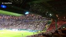 Fans light up Celtic Park in tribute to Lisbon Lions of '67