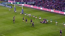 France just denied after clever cross-kick! | RBS 6 Nations