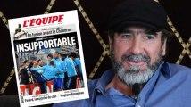 Le coup de pied de Patrice Evra ne fait ni chaud ni froid à Éric Cantona