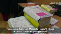 Jusqu'à 12 ans de prison dans le procès de dealers de Marseille