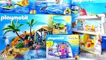 Playmobil Family Fun Collection! Island Juice Bar, Cruise Ship, Banana Boat, Jet Ski and More!!