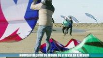 kitesurf : Alex Caizergues toujours plus rapide